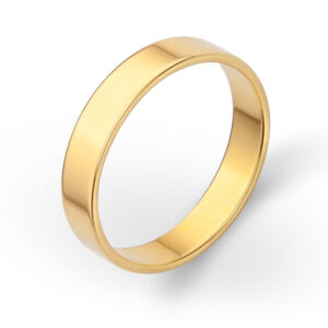 4mm-Yellow-Gold-Band