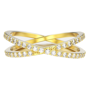 Cross-Band-Yellow-Gold