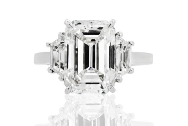 Emerald-Three-Stone-Ring