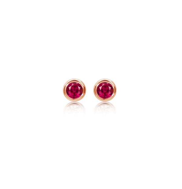 Ruby-Stud-Earrings