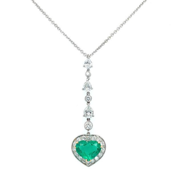 Heart-Emerald-pendant